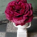 白花器 薔薇1